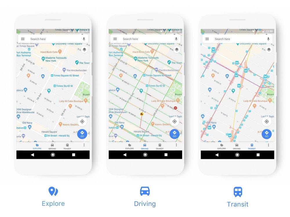 Googleマップがアイコンや色をアップデート!専用のアイコンやアイコンの表示優先度の設定変更